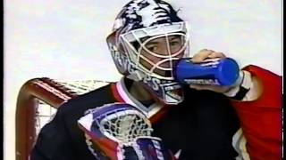 Ziggy Palffy Scores his 1st of 3 against the Rangers 11/28/00