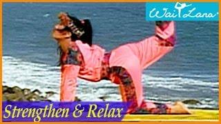 Gambar cover Strengthen & Relax: Yoga Shape-Up- Wai Lana Yoga