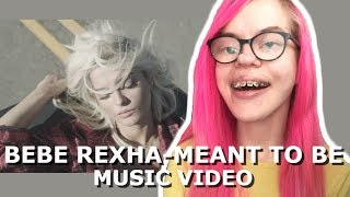 BEBE REXHA - MEANT TO BE FT. FLORIDA GEORGIA LINE (MUSIC VIDEO REACTION) | Sisley Reacts