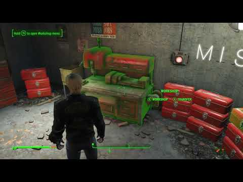 Fallout 4 How to Duplicate Raw Materials with COMMENTARY