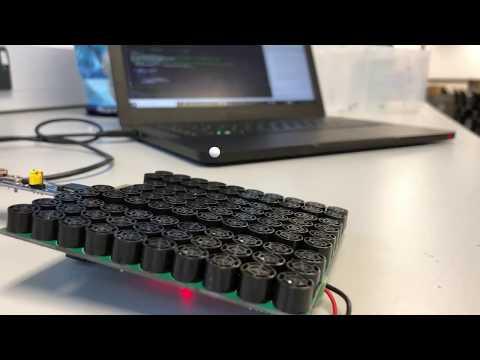 Ultrasonic Acoustic Levitation of a Polystyrene Bead