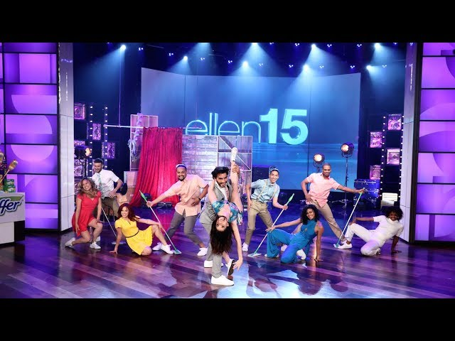 Ellen Brings in the Taylor Swiffers for Spring Cleaning!