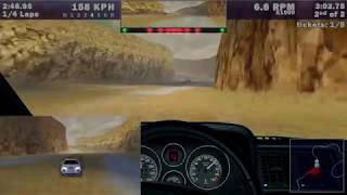 Need for Speed III Class B VS Advanced Cops 06 Lost Canyon