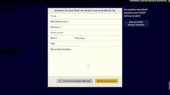 Mit E-post gratis Fax und Briefe online versenden