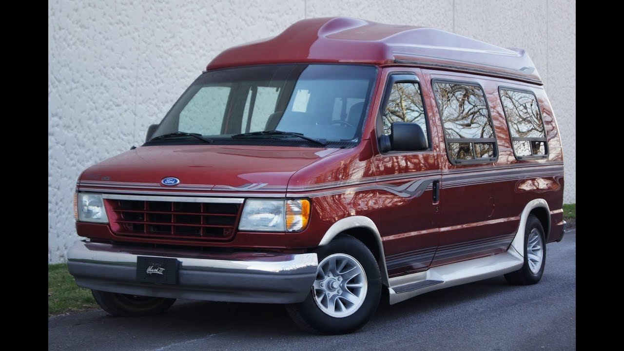 1996 Ford E-150 Mark Iii Lx Hightop Conversion Van