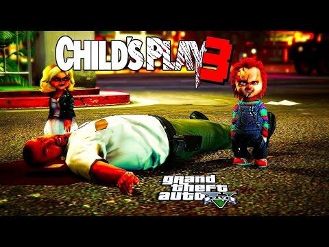 GTA 5 Online   CHUCKY CHILD'S PLAY #3  (BRIDE OF CHUCKY)