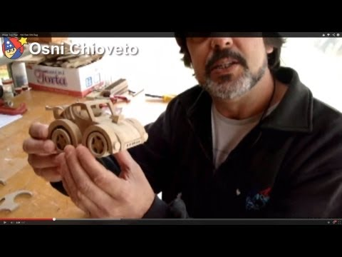 Wood Toy Plan - Hot Rod VW Bug