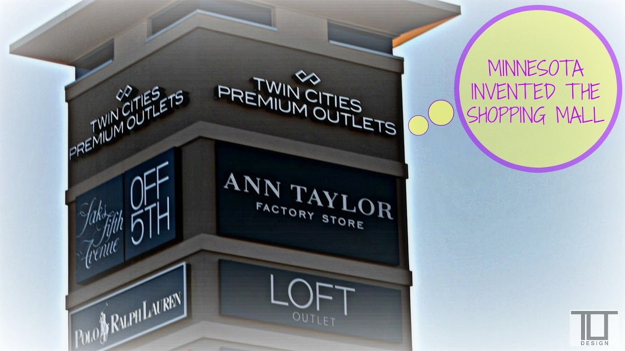 4483d0628ceb Twin Cities Premium Outlets - YouTube