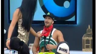 Secret Story Inês Faz dança sensual para Hugo
