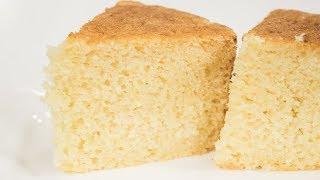 Sponge Cake Recipe | Eggless Pressure Cooker Basic Sponge Cake | Eggless Baking Without Oven