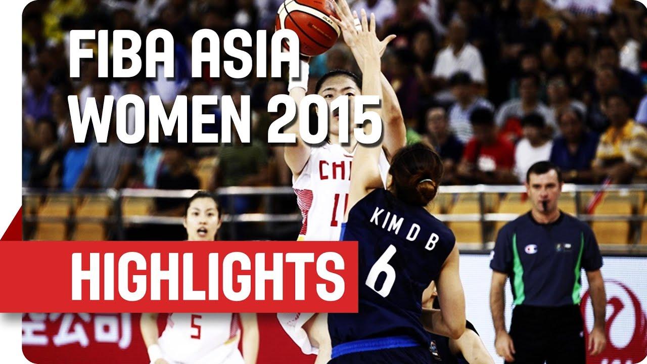 China v Korea - Game Highlights - Semi Final