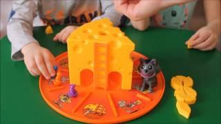 Настольная игра Кошки - Мышки Сырная охота | Обзор, распаковка