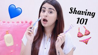 Everything you need to know about shaving and body hair | Myths and Tips | Muskan Chanchlani