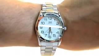 Обзор. Мужские наручные часы Q&Q Q638J204Y (Q638-204)