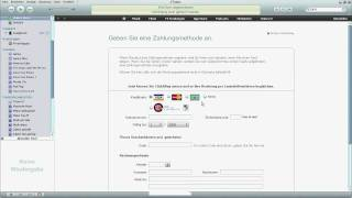 Tutorial iTunes Account erstellen - Zahlungsmethoden