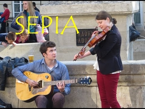 Sepia - Can't Help Falling In Love (Violin cover by Elvis Presley), Plaisir d'amour #FolkRockVideo