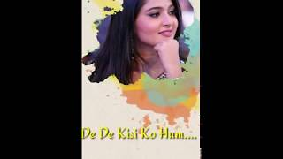 Full Screen WhatsApp Status  Humnava Mere   KK Creation  