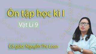 Ôn tập kiểm tra học kỳ I vật lý 9 ( buổi 1) – lớp 9 – cô giáo Nguyễn Thị Loan