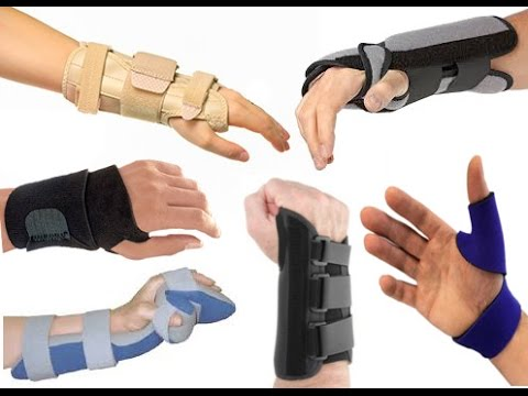 Splints and Braces for Carpal Tunnel