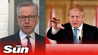 Michael Gove on PM's letter outlining 'stronger' lockdown measures if needed