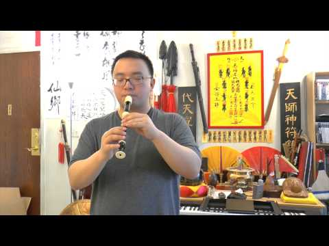 $8.99 Recorder Played Like a Chinese Flute (Dizi) Demo Song