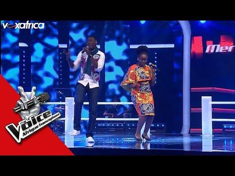 Eved vs Merveille ' Ololufe ' de Flavour ft Chidinma Les Battles | The Voice Afrique 2017