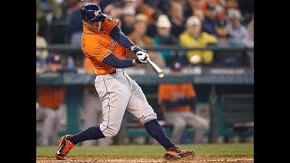 Today we look at the hitting mechanics of george springer houston astros. antonelli baseball is #1 online resource for instruction. br...