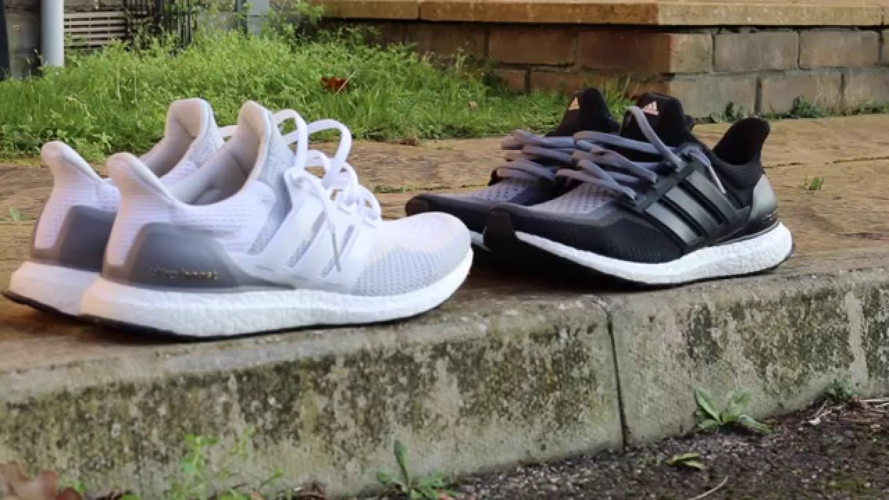 Adidas Ultra Boost Grey Off White