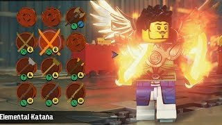 LEGO Ninjago Movie Video Game - Customize | Create Character - Open World Free Roam Gameplay HD