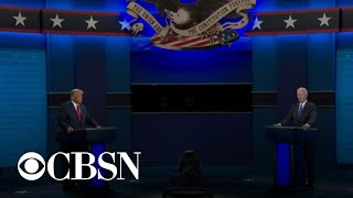 Top trending moments from the final presidential debate on social media