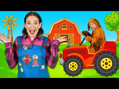 Farm Animals - Kids Songs & Nursery Rhymes - Learn Animal Sounds on the Farm