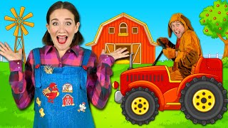Farm Animals - Kids Songs & Nursery Rhymes - Learn Animal Sounds on the Farm