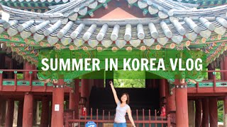 SUMMER IN KOREA VLOG Thumbnail