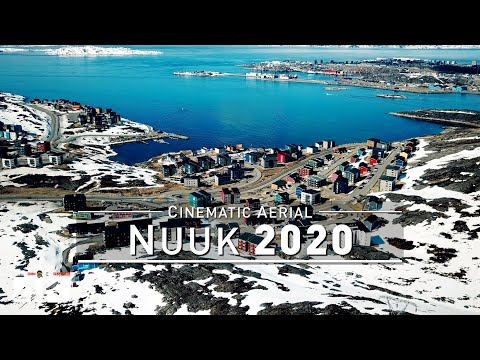 【4K】Drone Footage | Nuuk - Capital of GREENLAND 2019 ..:: Bird's View | Aerial Video