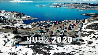 【4K】Drone Footage | Nuuk - Capital of GREENLAND 2019 ..:: Bird's View