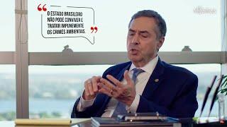"""Luís Roberto Barroso: """"Estado não pode tratar impunemente os crimes ambientais"""""""