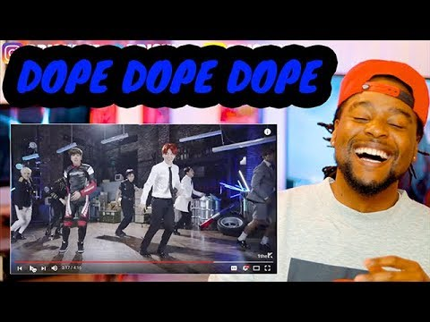 BLACK GUY REACTION to BTS - DOPE | 방탄소년단  - 쩔어 | MV