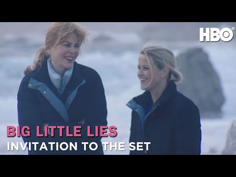 On The Big Little Lies Set with Nicole Kidman & Reese Witherspoon HBO