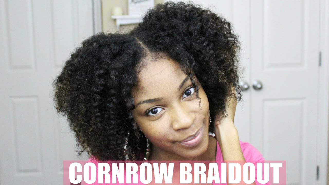 cornrow braid natural hair