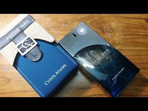 Active Man (EDP) By Chris Adams Fragrance Review