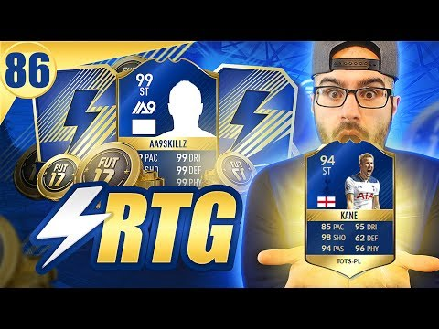 *MUST WATCH* TOTS 94 HARRY KANE THE GOAT! Road To Fut Champions FIFA 17 Ultimate Team #86