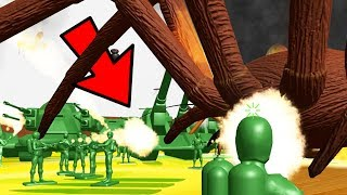 Home Wars - 1000's OF GREEN ARMY MEN FIGHT GIANT INSECT ARMY INVASION - Home Wars Gameplay