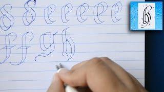 GÓTICA ESQUELÉTICA (minúsculas/lowercase) | 2 Pens