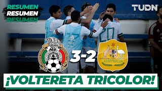 Highlights   México 3-2 Australia   Amistoso Sub 23   TUDN