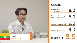 Band 8.5 IELTS Practice Speaking Exam (mock test) - with teacher feedback - Jed from Myanmar