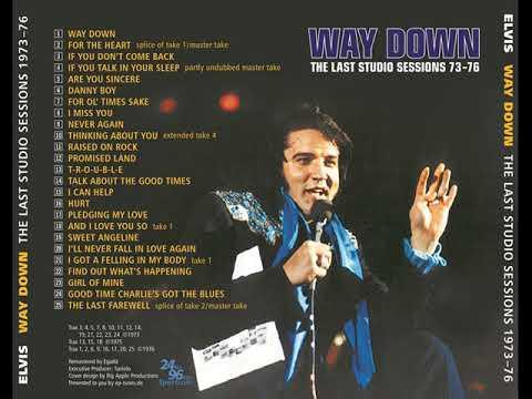 Elvis - Way Down (Bootleg CD)