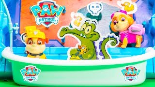 PAW PATROL Nickelodeon Disney Where is My Water Game a Paw Patrol Video Unoxing Toy Video