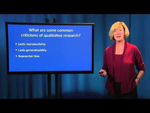 Fundamentals of Qualitative Research Methods: Scientific Rigor (Module 6)