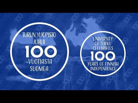 Turun yliopisto juhlistaa 100-vuotiasta Suomea