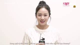 -Vietsub- Kim Tae Hee tại buổi đọc kịch bản cho bộ phim Hi- Bye Mommy- 2020